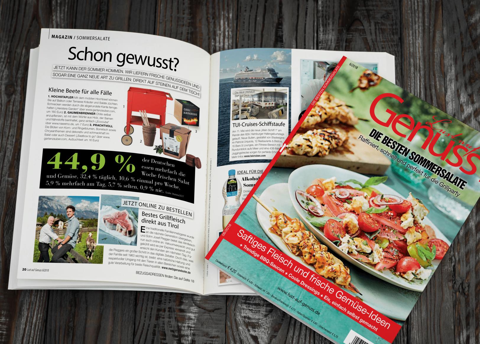 Bestes Grillfleisch aus Tirol - jetzt online zu bestellen