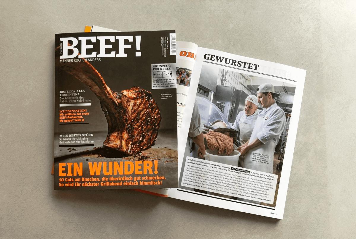 Beef Pressebeitrag
