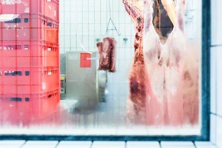 Fleisch in unserem Kühlhaus