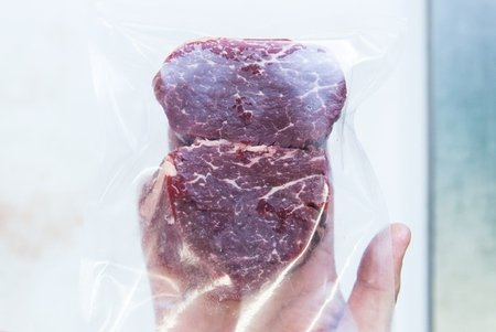 Rinderfleisch vakuumiert